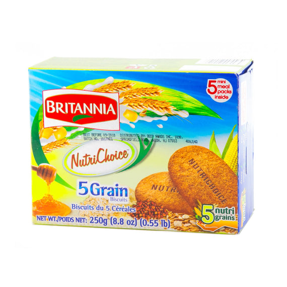 Britania 5GRAIN BISCUIT-250GM