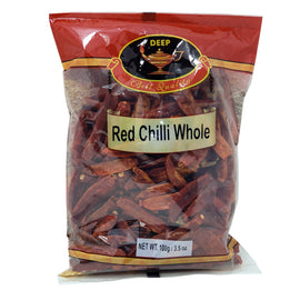 Deep Red Chilli Whole