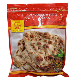 Deep Whole Wheat Naan 5Pcs