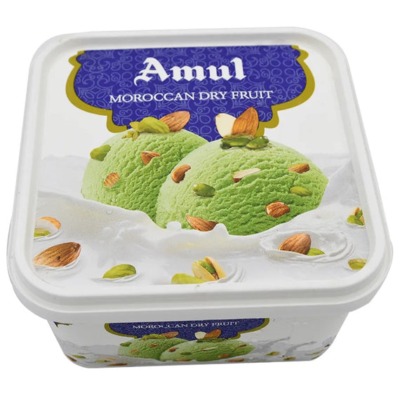 Amul ice Creme ( Moroccan dry fruit )540 gm