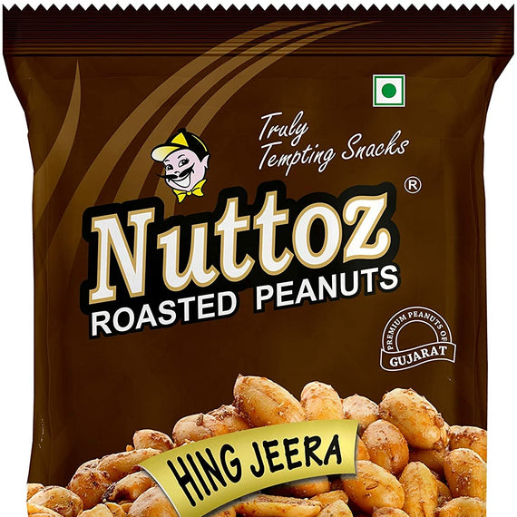 Nuttoz Rosted Peanuts 150 Gm