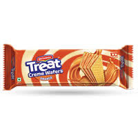 Britannia Treat Creme wafers hazelnut (150gram )