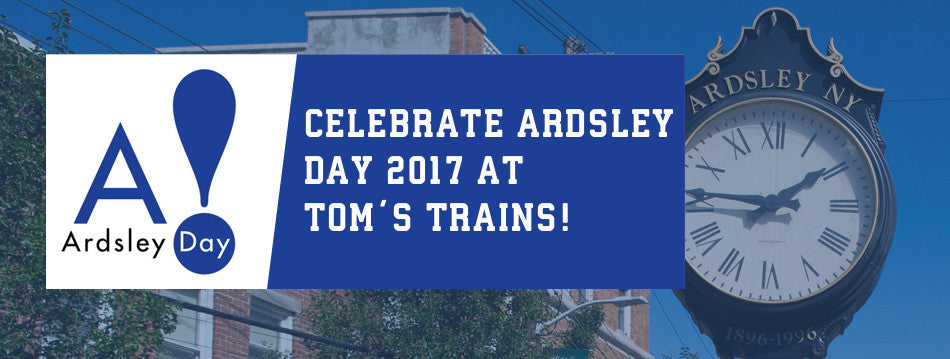 Celebrate Ardsley Day With Tom's Trains on September 24th!