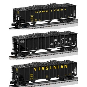 Lionel # 17775 NS Heritage 3 Bay Open Hopper Savannah&Atlanta/NYC/Virginian