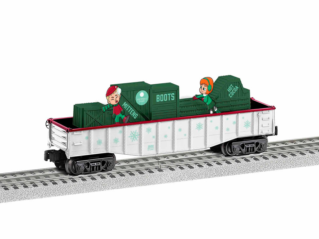 Lionel #1928450 Snowball Fight Chasing Gondola
