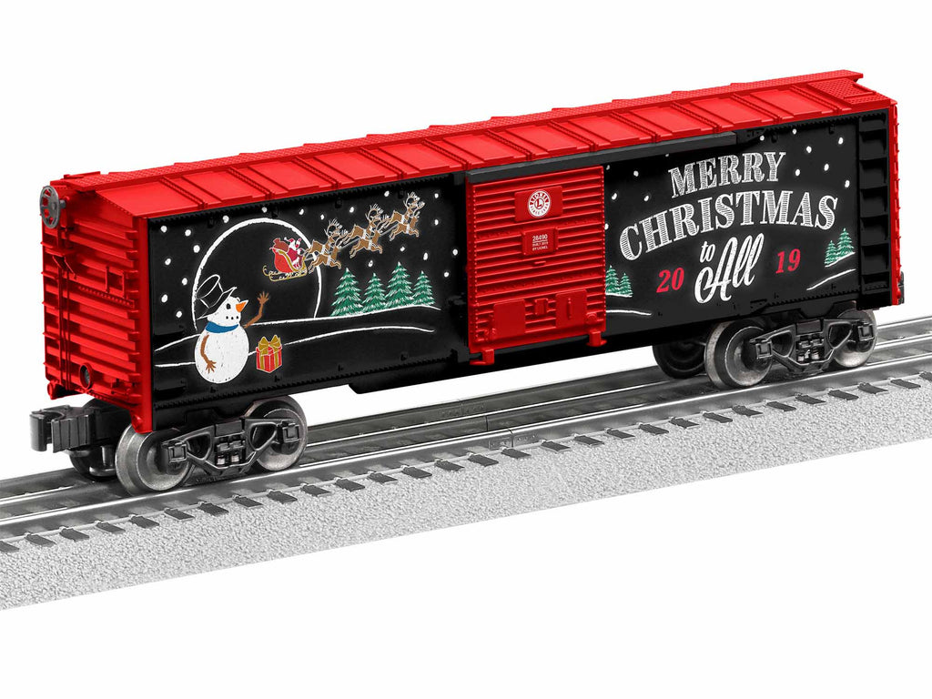 Lionel # 1928490 2019 Christmas BoxCar