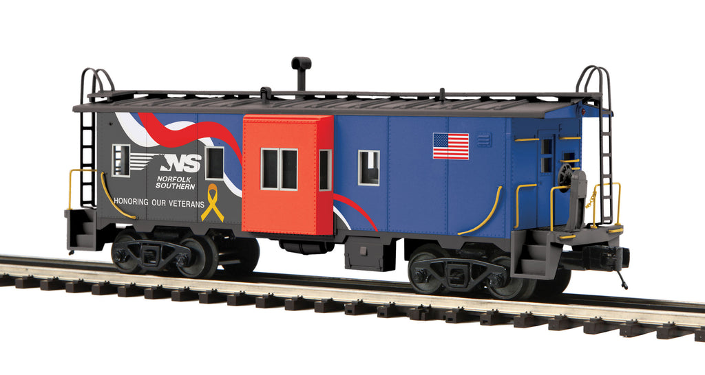 MTH # 20-91594 Norfolk & Southern Veterans Bay Window Caboose