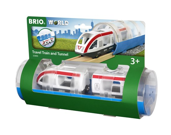 Brio # 33890 Travel Train & tunnel