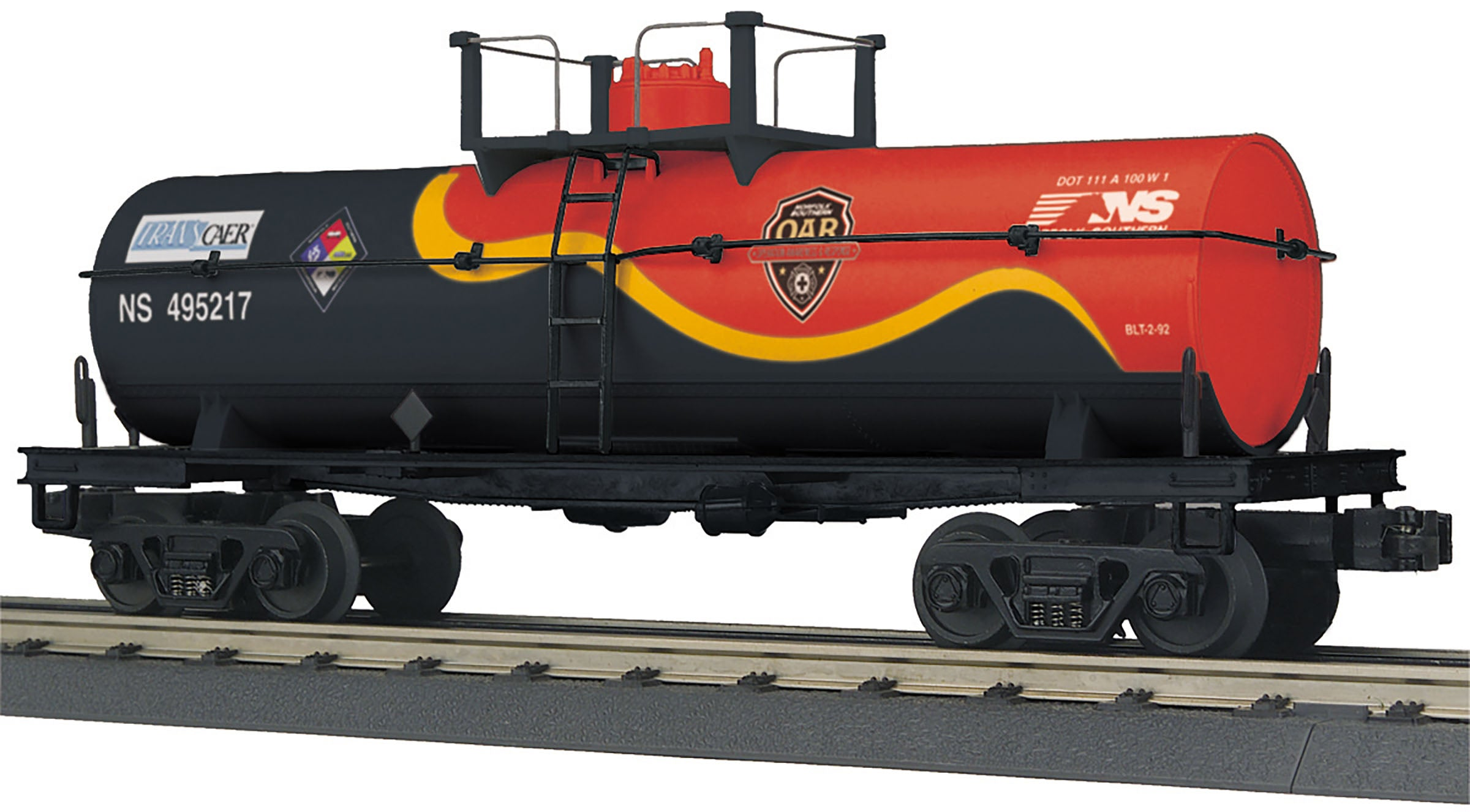 MTH # 73521 Air Products Smoking Tank Car
