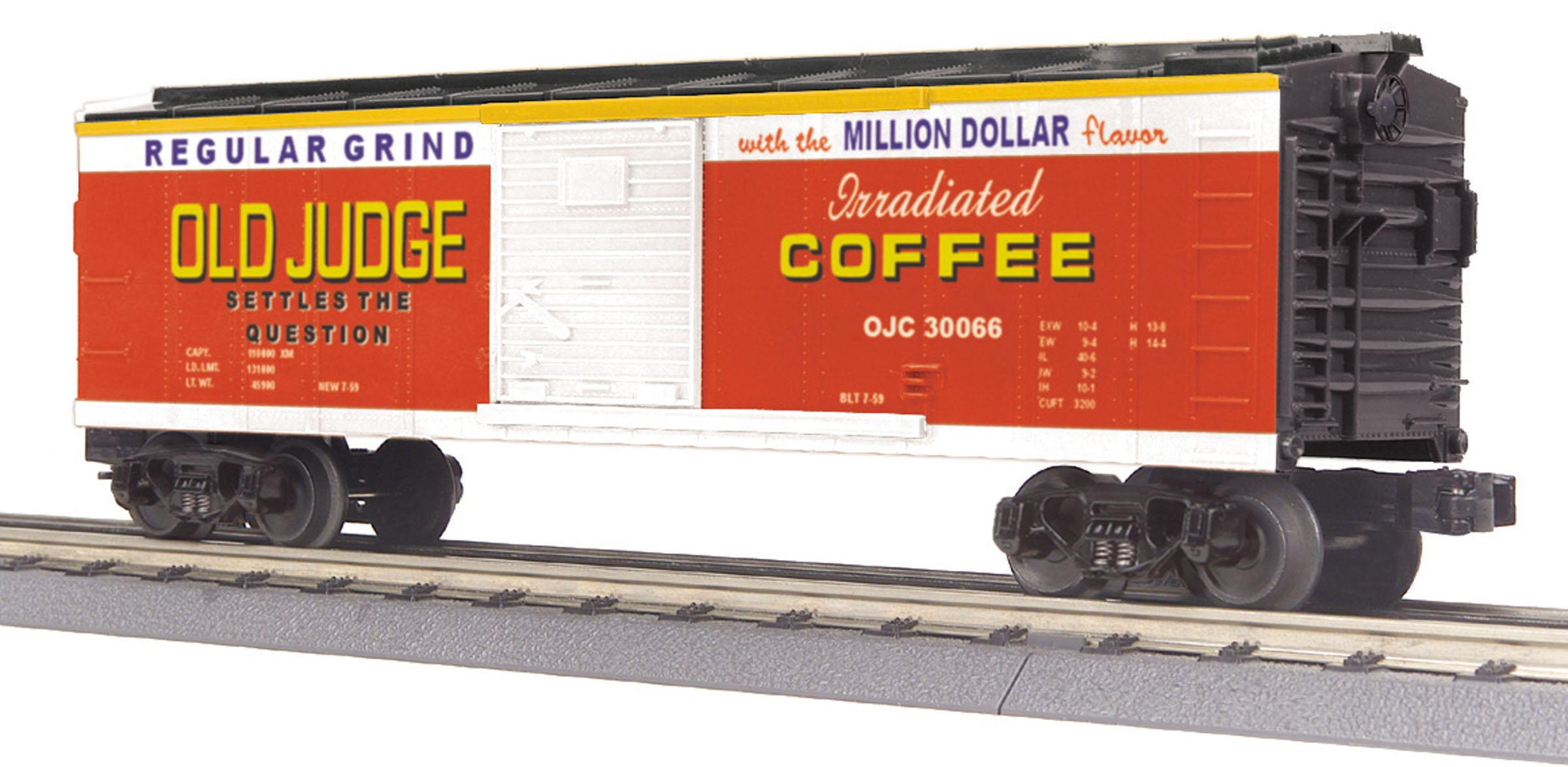MTH # 30- 74880 Old Judge Coffee BoxCar
