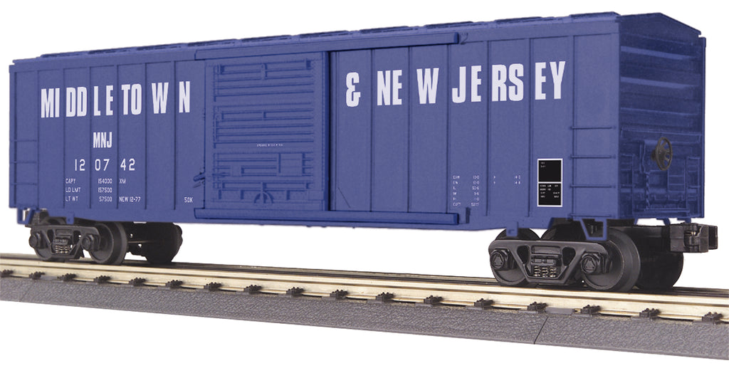 MTH # 30-74951 Middletown & New Jersey 50' Modern BoxCar