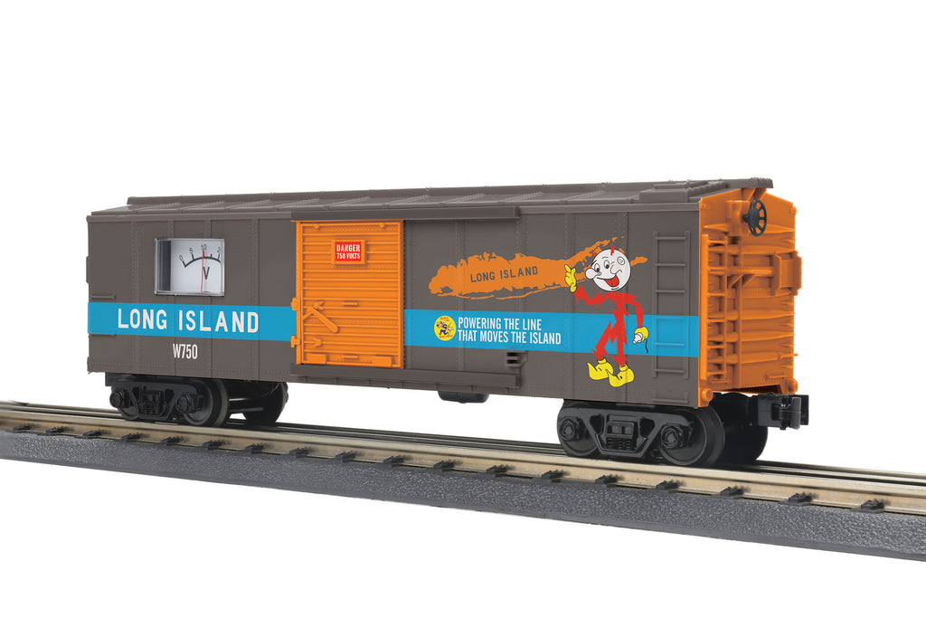 MTH # 74968 Long Island BoxCar w/Power Meter