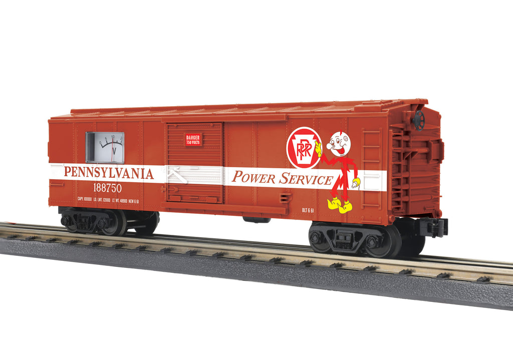 MTH # 30- 74969 Pennsylvania BoxCar w/Power Meter/#188750