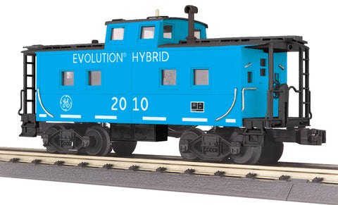 MTH # 30-77262 G.E . Evolution Steel Caboose