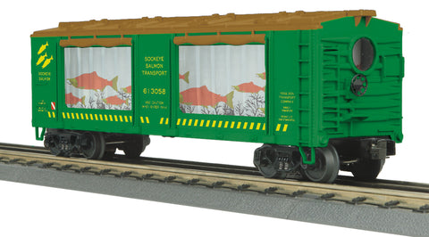 MTH # 30-79375 Sockeye Salmon Operating Aquarium Car
