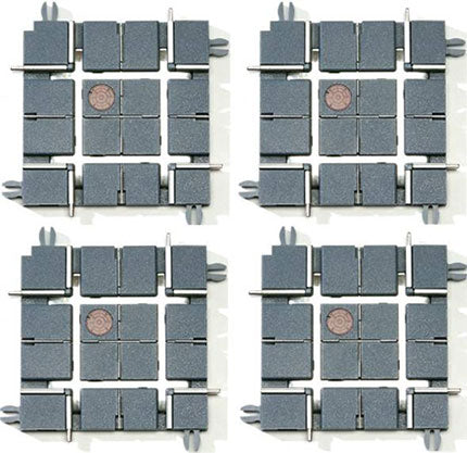 K-Line By Lionel # 21266 Intersections 4 Pack