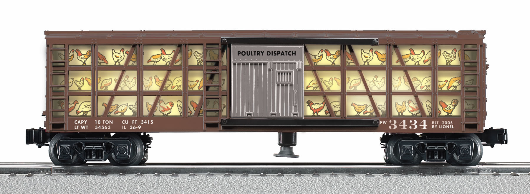 Lionel# 29825 Poultry Dispatch Car