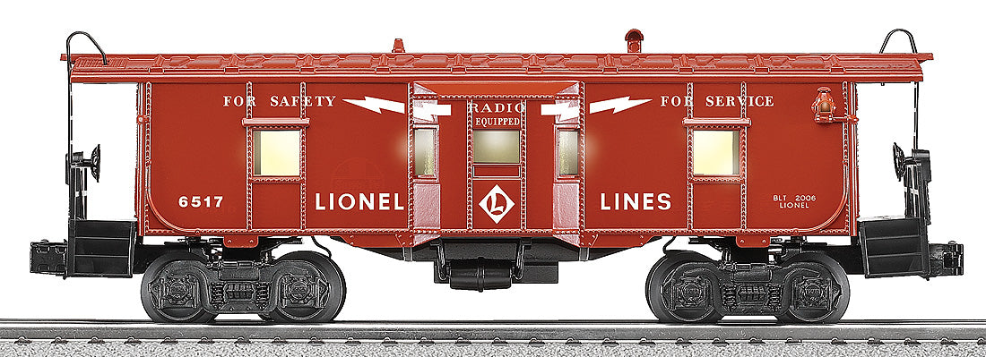 Lionel # 29722 # 6517 Lionel Lines Bay Window Caboose
