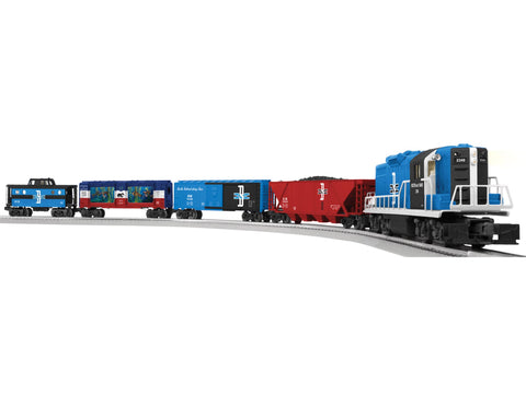 Lionel # 81021 Boston&Maine Paul Revere GP9 Set (Conv. GP9#2346)