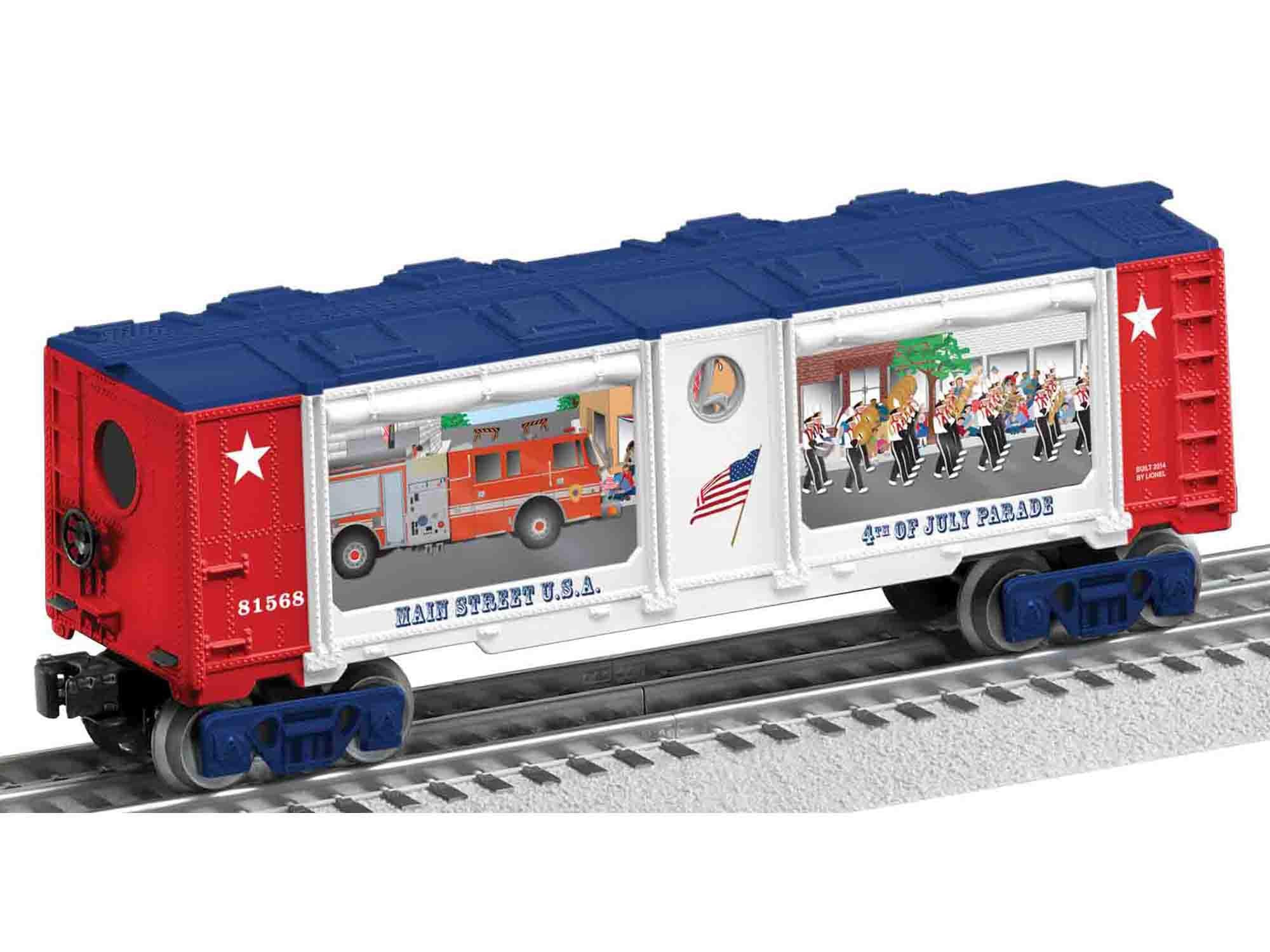 Lionel # 81568 4Th Of July Parade BoxCar