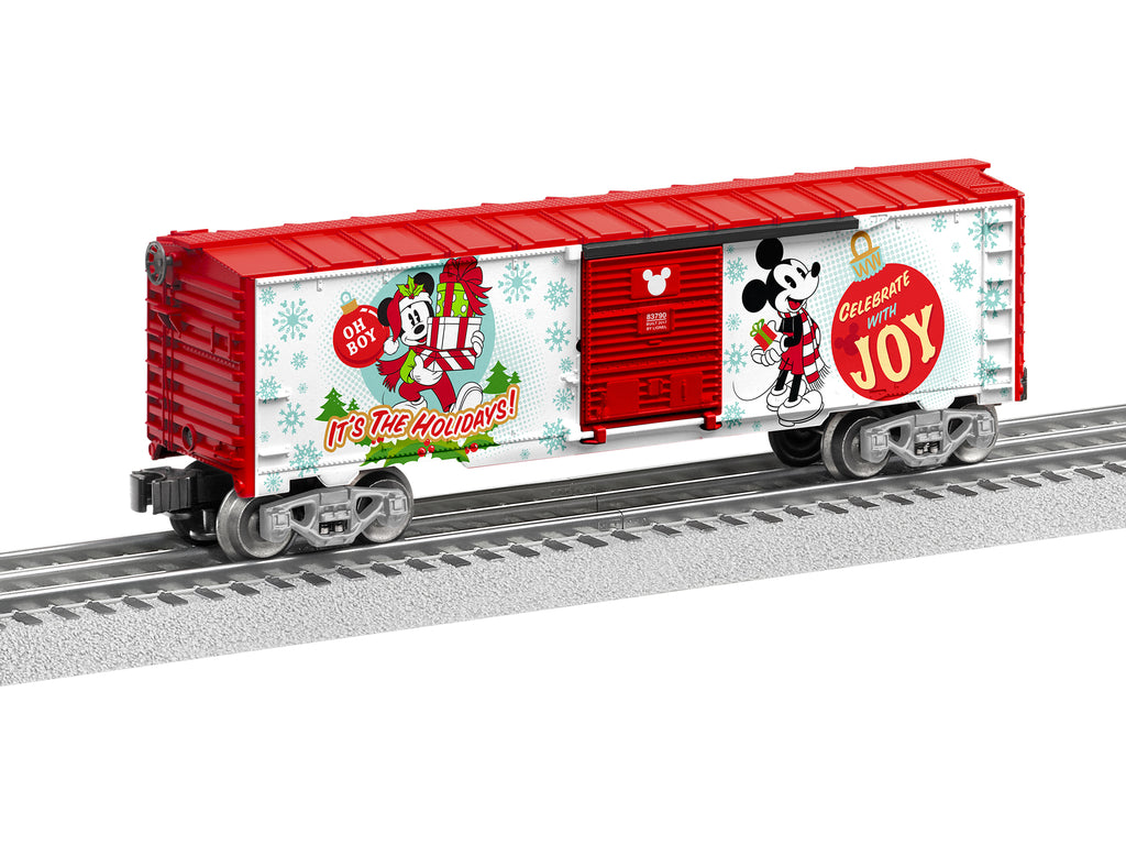Lionel # 83790 Mickey Mouse Happy Holidays BoxCar