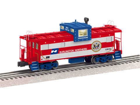 Lionel # 84130 Burlington Northern Wide Vision Caboose