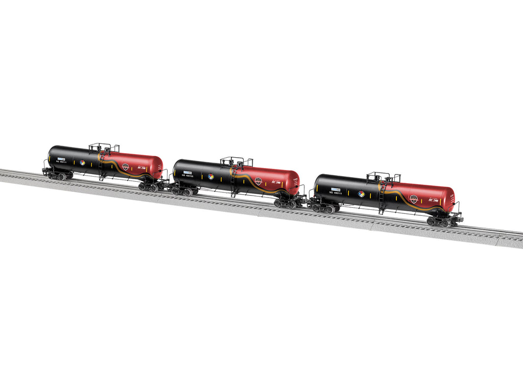 Lionel # 84434 Norfolk Southern Transcaer 30K Gallon Tank Cars 3 Pack