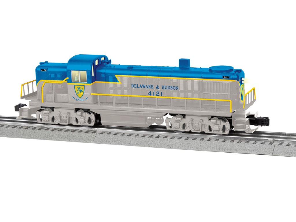 Lionel # 84696 Delaware & Hudson LionChief Plus RS-3 # 4121