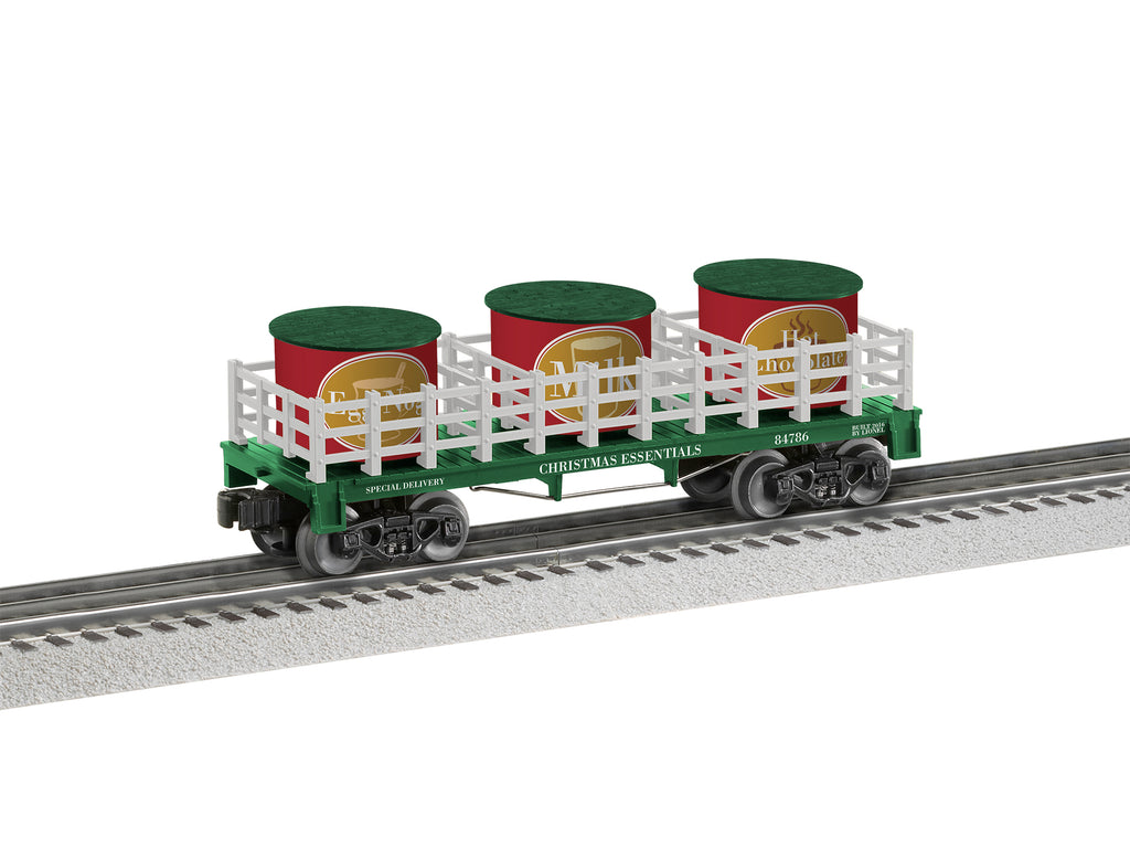 Lionel # 84786 Christmas Essentials Barrel Car