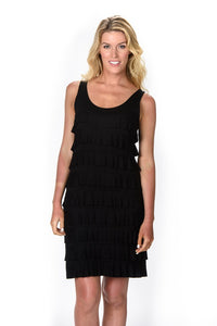 Black Cha Cha Dress by Melis Kozan