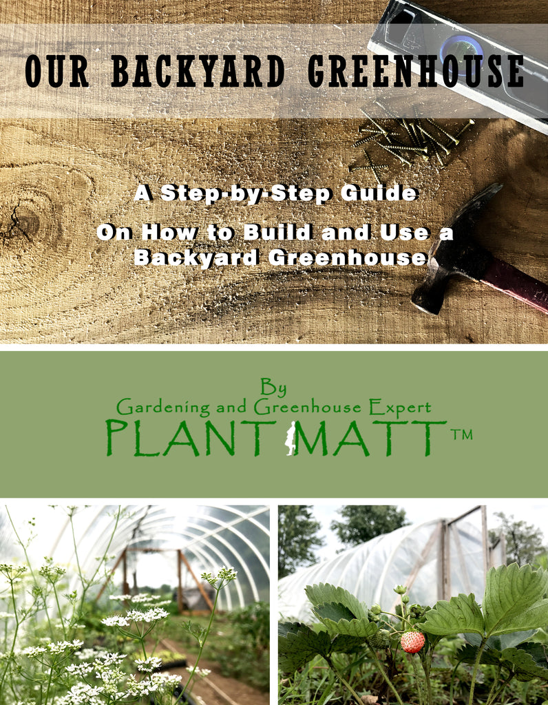 OUR BACKYARD GREENHOUSE BOOK