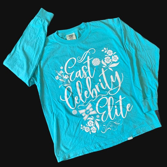Long Sleeve Teal T-Shirt