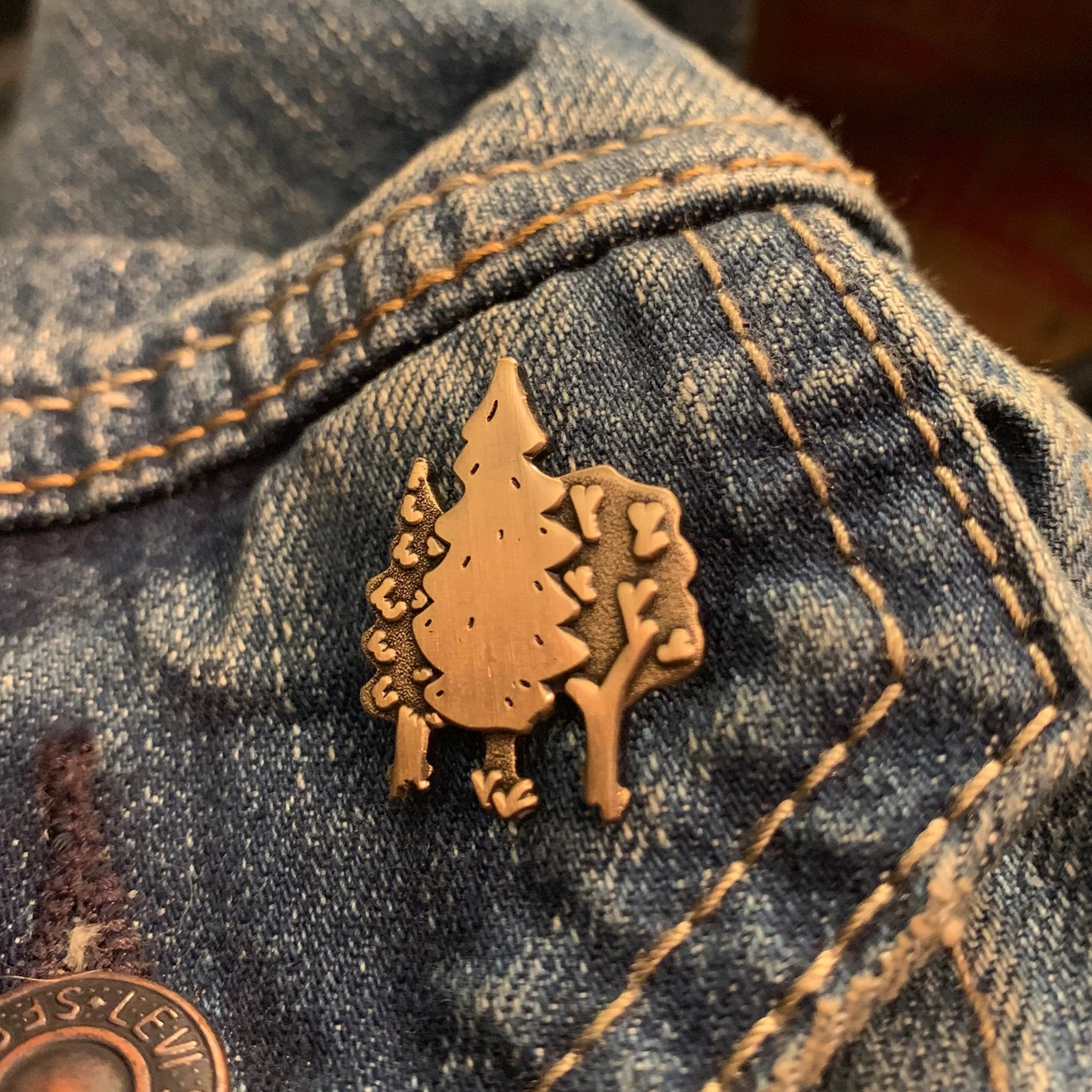 Forest Corner Company Pin