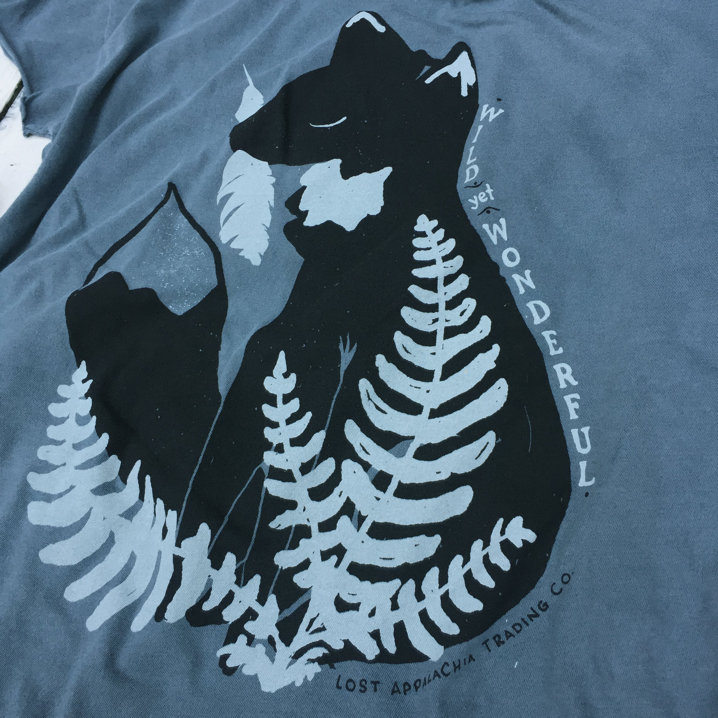 Fox Feather Fern Women's Tee