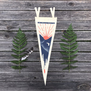Mountain Sunrise Pennant