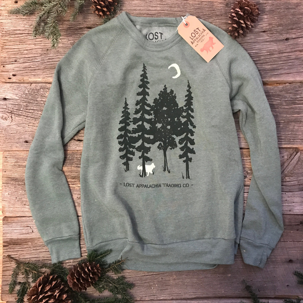 Wander The Trees Crew Sweatshirt