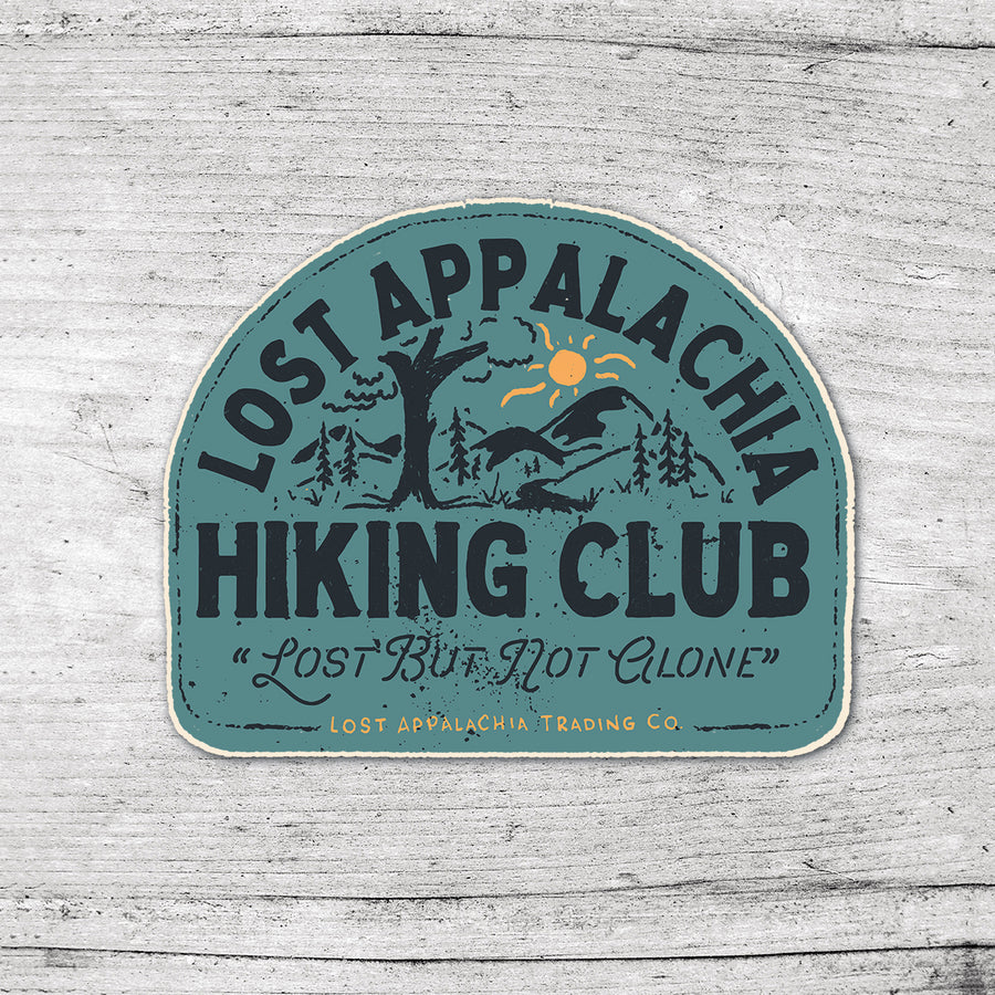 Hike Club Sticker