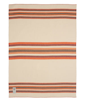 Woolrich Winter White Walnut Ridge Blanket