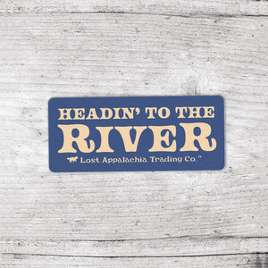 Headin' To The River - Small