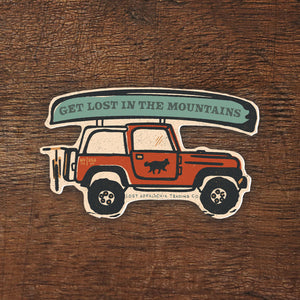 Adventure 4x4 Sticker