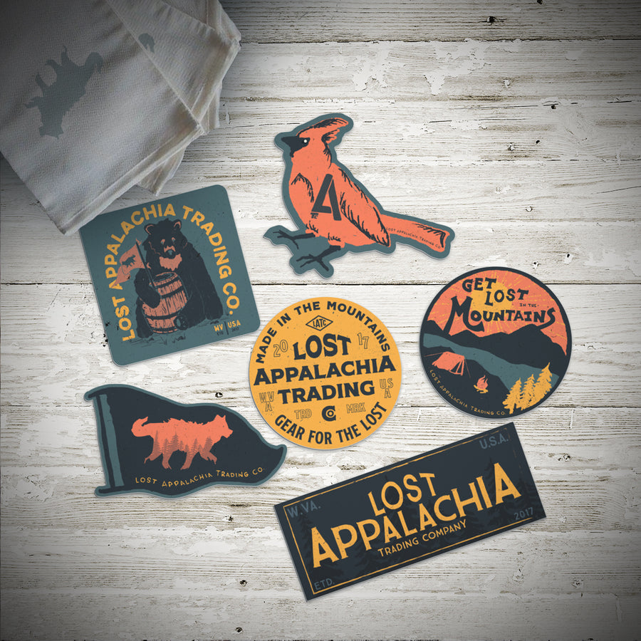 The Lost Sticker Set