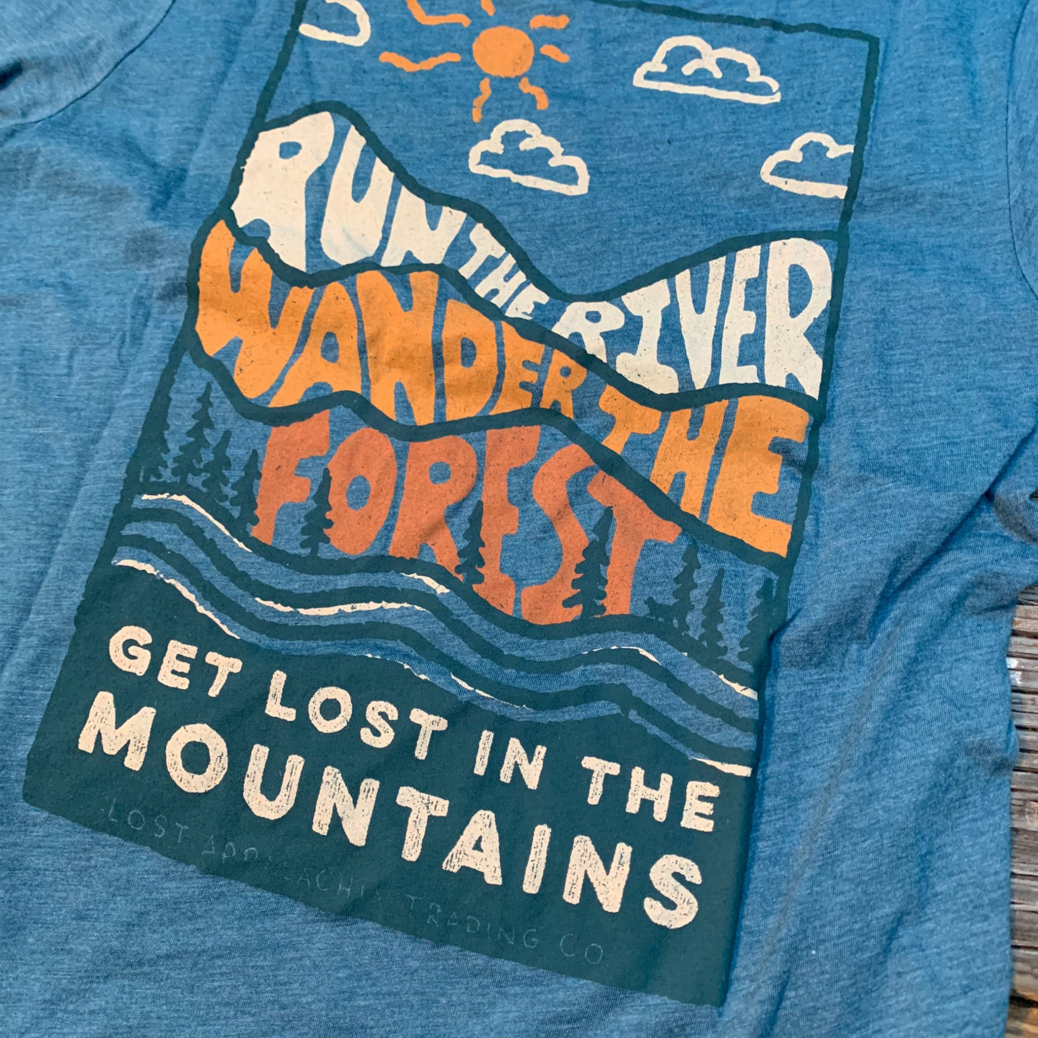 River Forest Mountain Tee