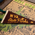 WV State Parks Mini Pennant