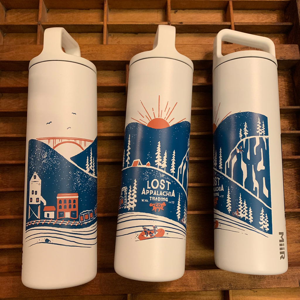 Wanderer's Insulated Water Bottle