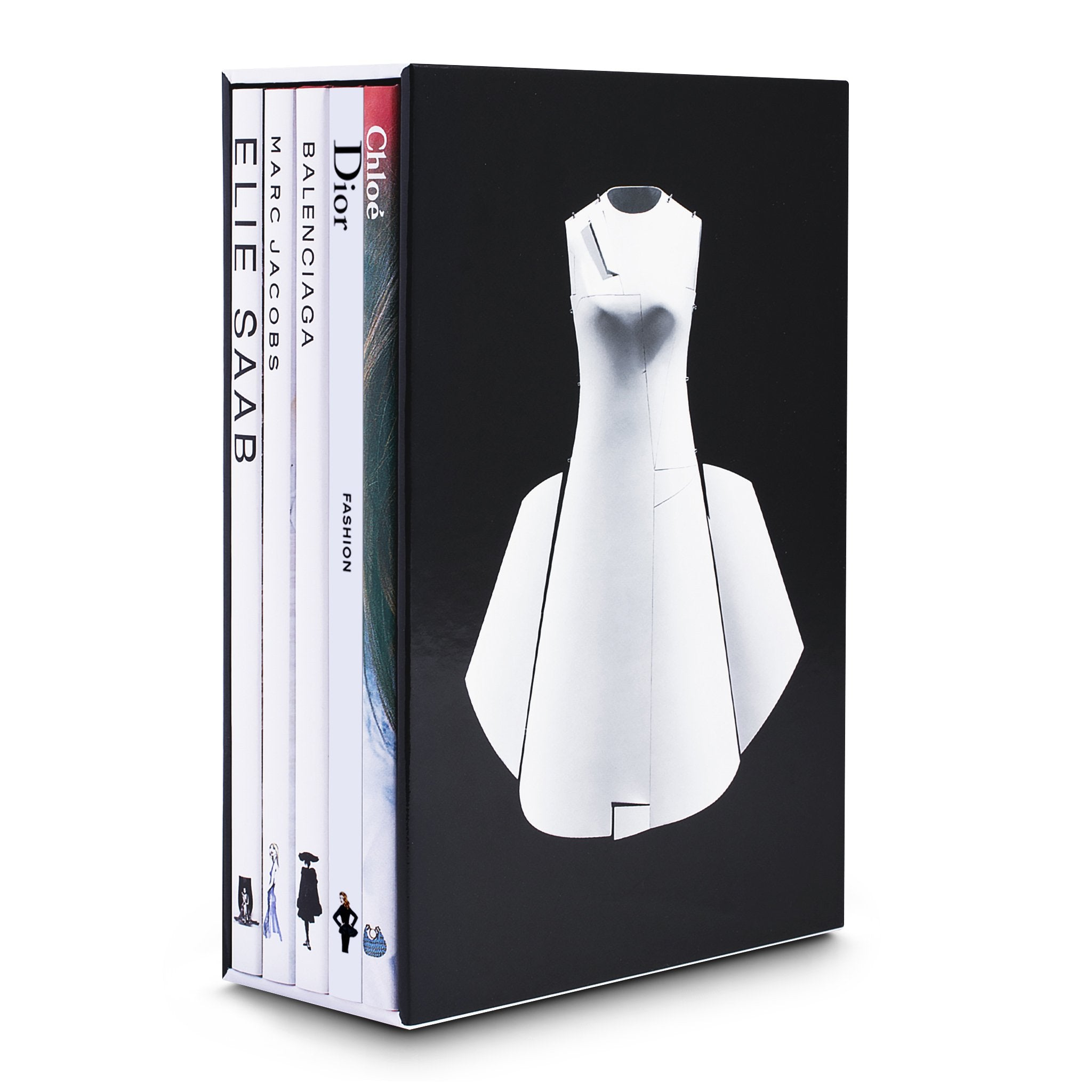 Memoire Slipcase Set-Fashion - Assouline