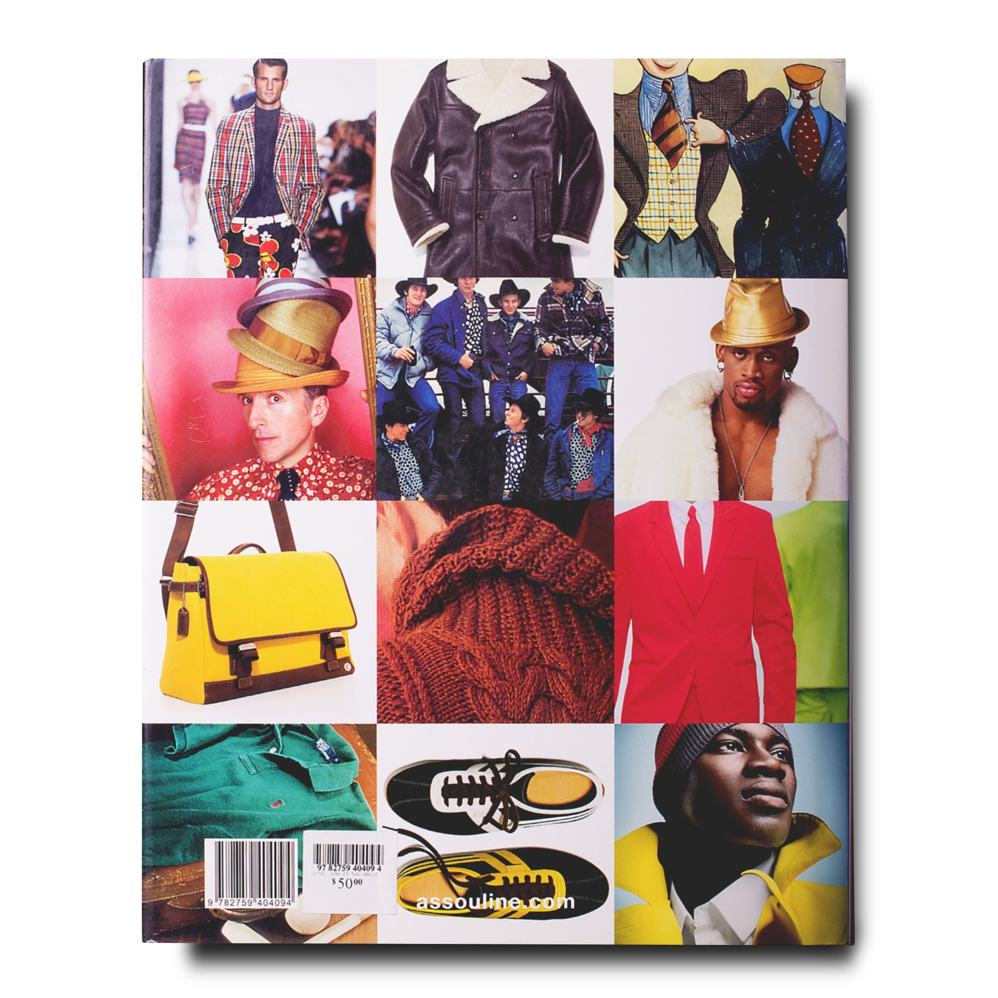 Assouline Books American Fashion Menswear