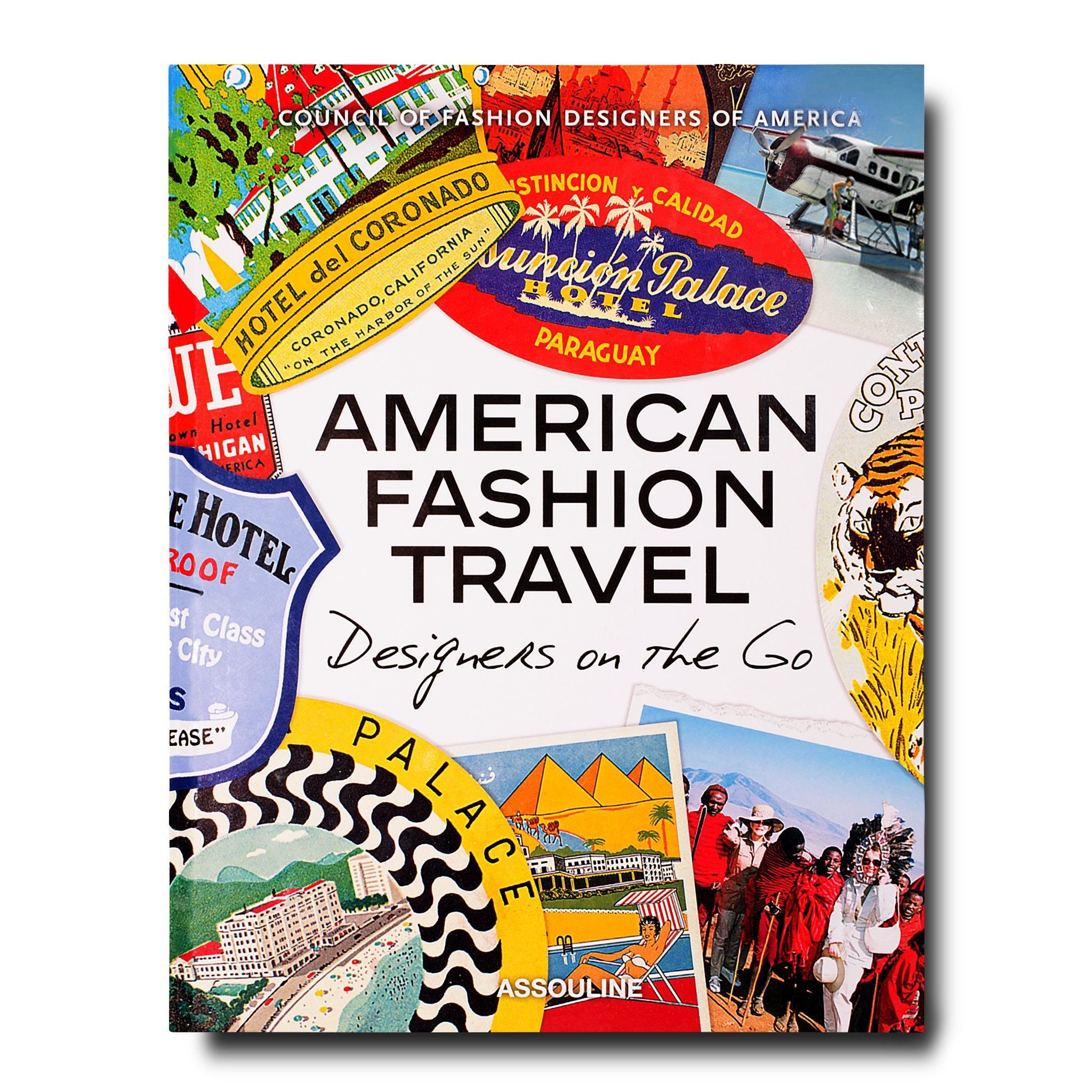 Assouline Books American Fashion Travel