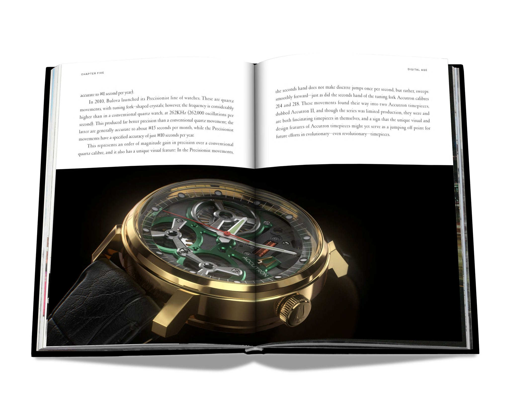 ASSOULINE Books Accutron: From the Space Age to the Digital Age