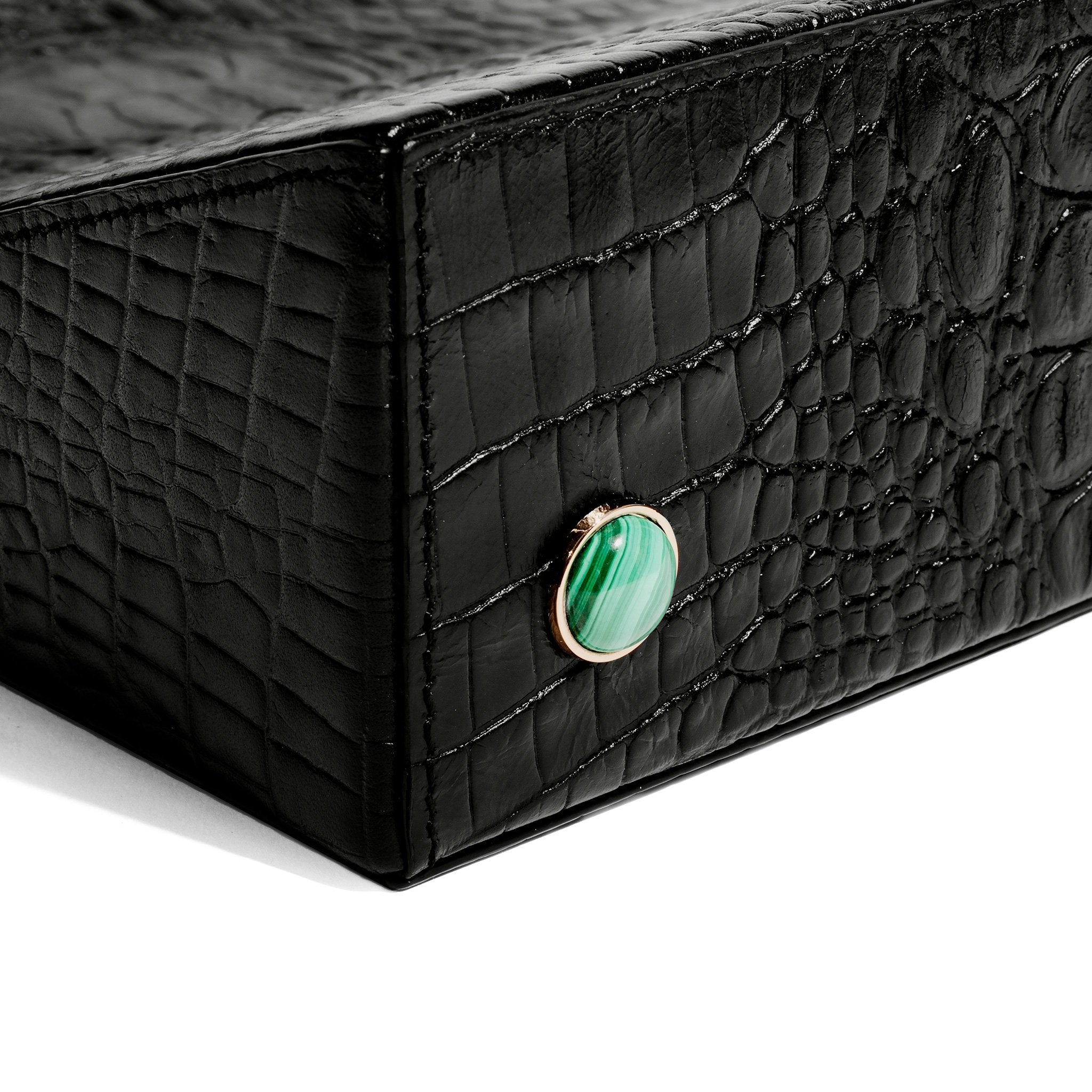 Madame Malachite Black Bookstand - Assouline