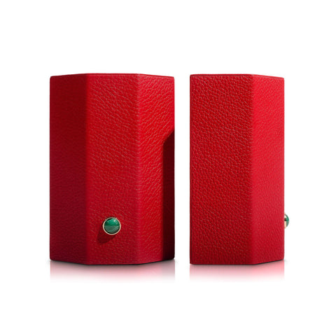 Madame Malachite Bookends - Red - Assouline